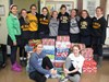 Saint Ursula Academy Freshmen Make a Brighter Christmas for Kids Around the World through Operation Christmas Child