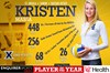 St. Ursula Academy's Kristen Massa Named  All-American in Volleyball
