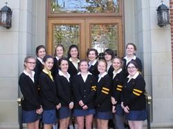 Saint Ursula Academy Announces National Merit Students for 2015-2016!