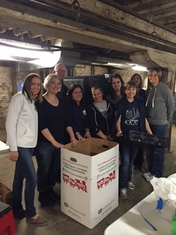 Saint Ursula Academy Faculty and Staff Make a Difference Day