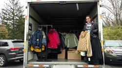 Saint Ursula Academy's Geraghty Collects More than 350 Coats for Area Residents in Need
