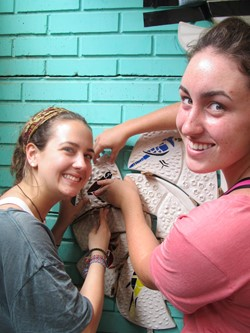 Saint Ursula Academy Students Create and Install Original Artwork in Nicaragua
