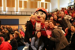 Saint Ursula Academy Hosts  Go Red for Women Event