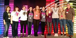 SUA Students Network with Professionals and the TechOlympics