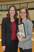 "Saint Ursula Academy's Utecht Named ""Excellent School Counselor"" with Award"