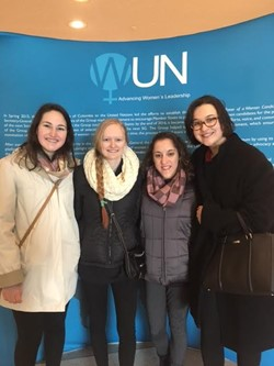 Saint Ursula Academy Students Visit United Nations