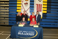 Saint Ursula Academy Hosts Spring Letter of Intent Signing Event