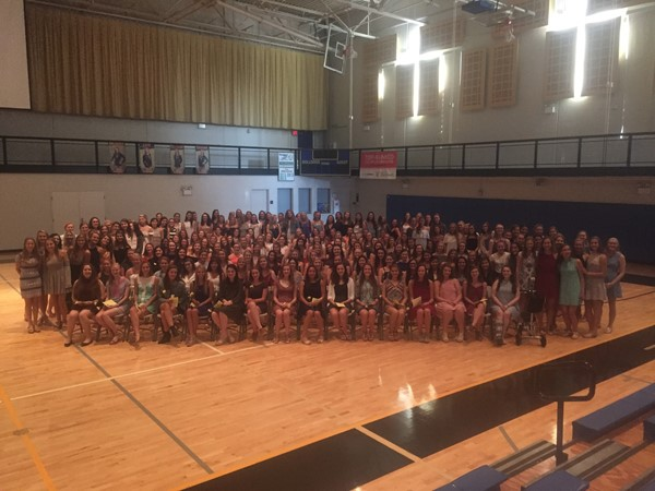 Saint Ursula Academy Welcomes New Members to the National Honor Society