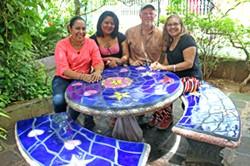 Saint Ursula Academy Art Teacher Creates Mosaic for Batahola Cultural Center in Nicaragua