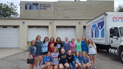 "Saint Ursula Academy Students Take ""Urban Plunge"" with St. Vincent de Paul"