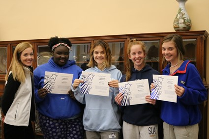 "Saint Ursula Academy Honors Students with ""Go Beyond"" Award"