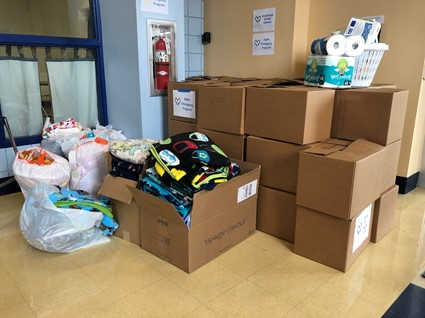 Personal Care Items Collected
