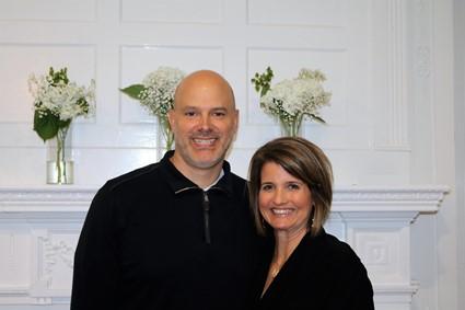 Jessica and Tony Pedoto