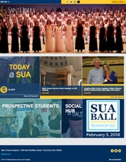 Saint Ursula Academy Website
