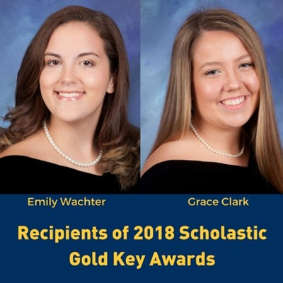 2018 Recipients of Scholastic Gold Key Award