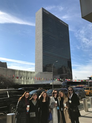 SUA students at United Nations