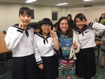 Erika Lundstedt in Japan