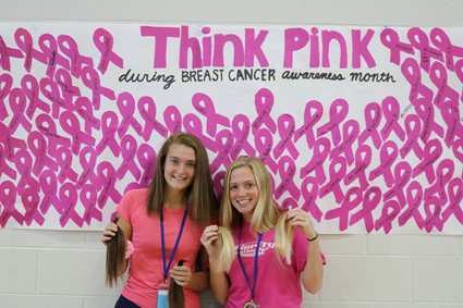 Saint Ursula Academy Students Donate Hair to Help Cancer Patients