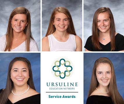 Saint Ursula Academy Students Win  National Service Award