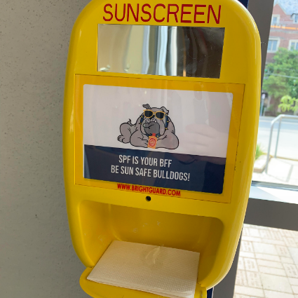 Sunscreen Dispenser