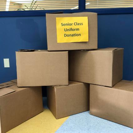 Uniform Donation Boxes