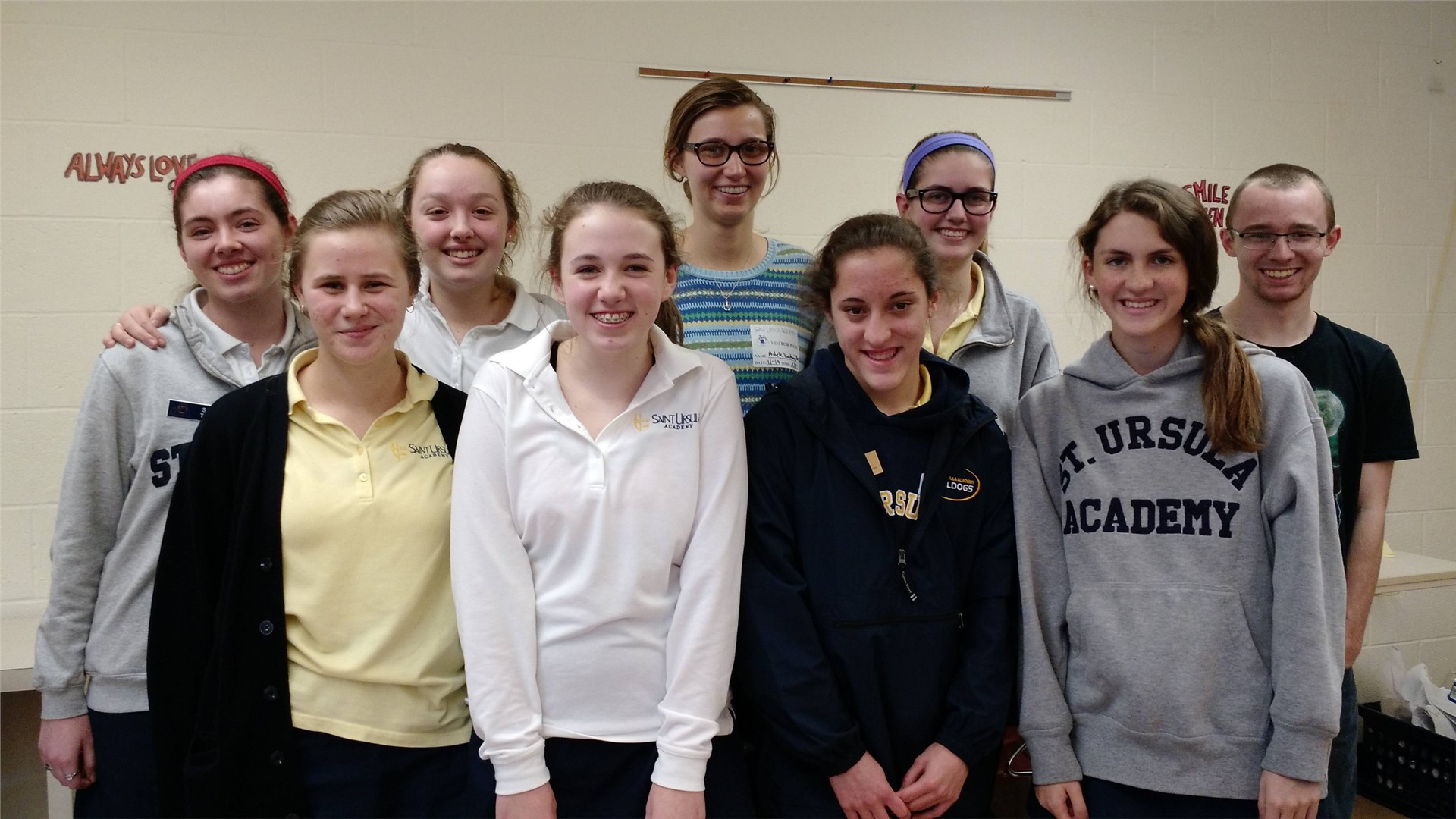 SUA Students recently participated in after-school Technology classes