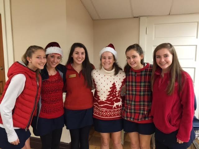Alumnae Christmas Tea 2015