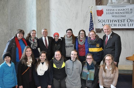 LIFE Club members traveled to Washington D.C., on Thursday, 1/22 for the annual Right to Life March.