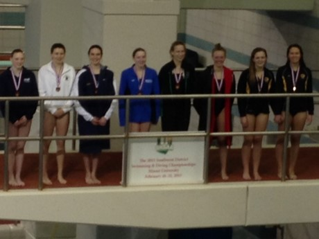 Congratulations to SUA Diver Audrey Capannari who qualified for State!
