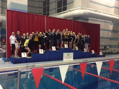 The SUA Swim Team Wins Districts and heads to State!  Go Bulldogs!