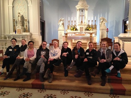Students Perform Service and Learn SUA Heritage During Spiritual Journey Week 2015