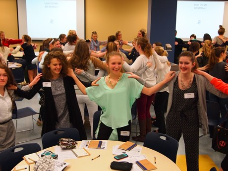 Students mixed fun and learning at the 2015 SUA Leadership Academy