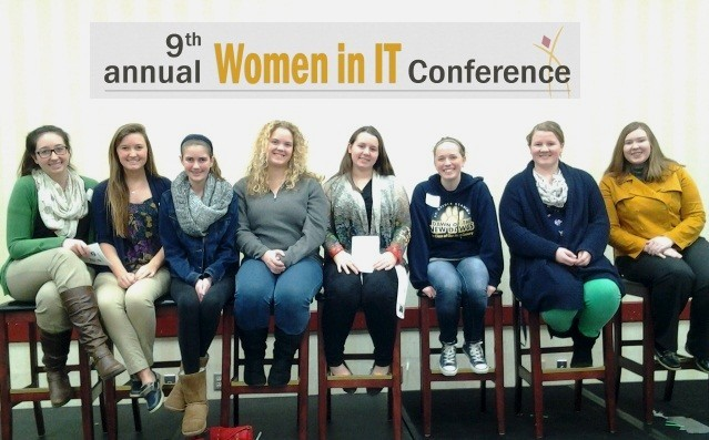 """Students attend the """"Women in IT"""" Conference"""
