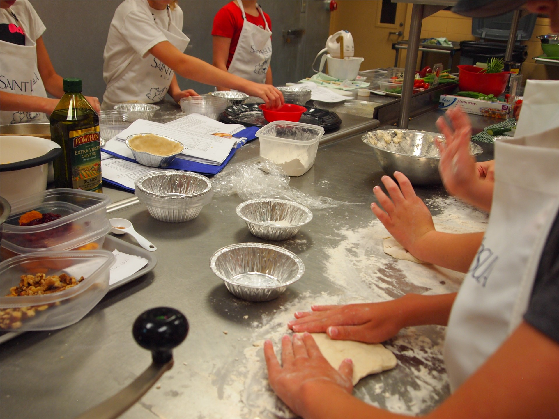 SUA Summer Academy Camp Fun! Cooking with Class!