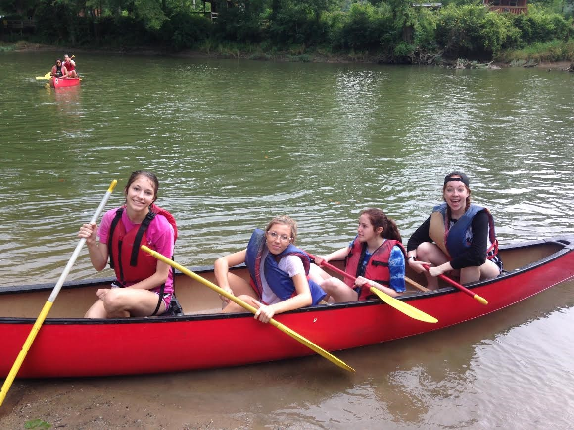 Senior Canoe Trip 2015