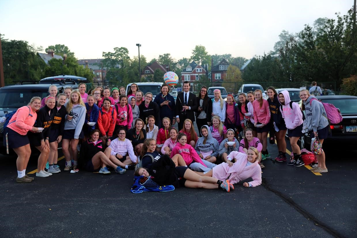 The Girls Athletic Association Hosted a Cereal Tailgate Party to prep for some big games!