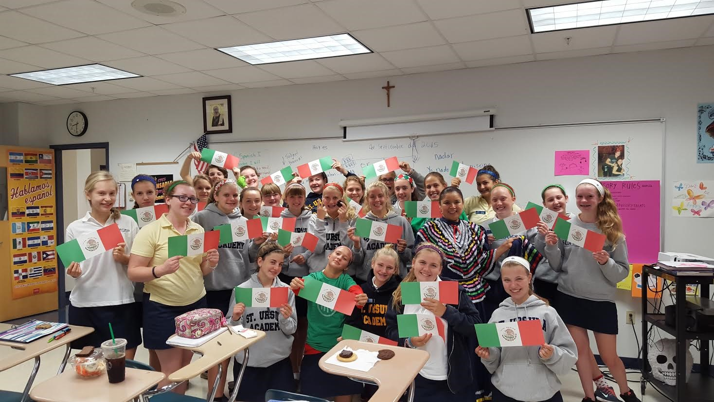 Ms. Garcia's students learned Mexican Independence Day is on Sept. 16, not May 5 as many believe