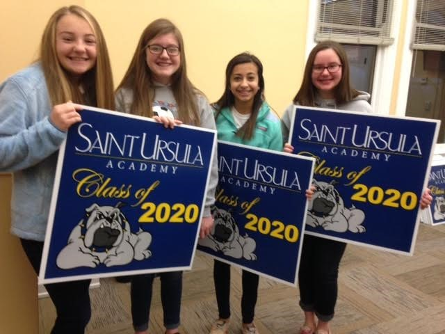 Welcome to our newest SUA Bulldogs!  The Class of 2020!
