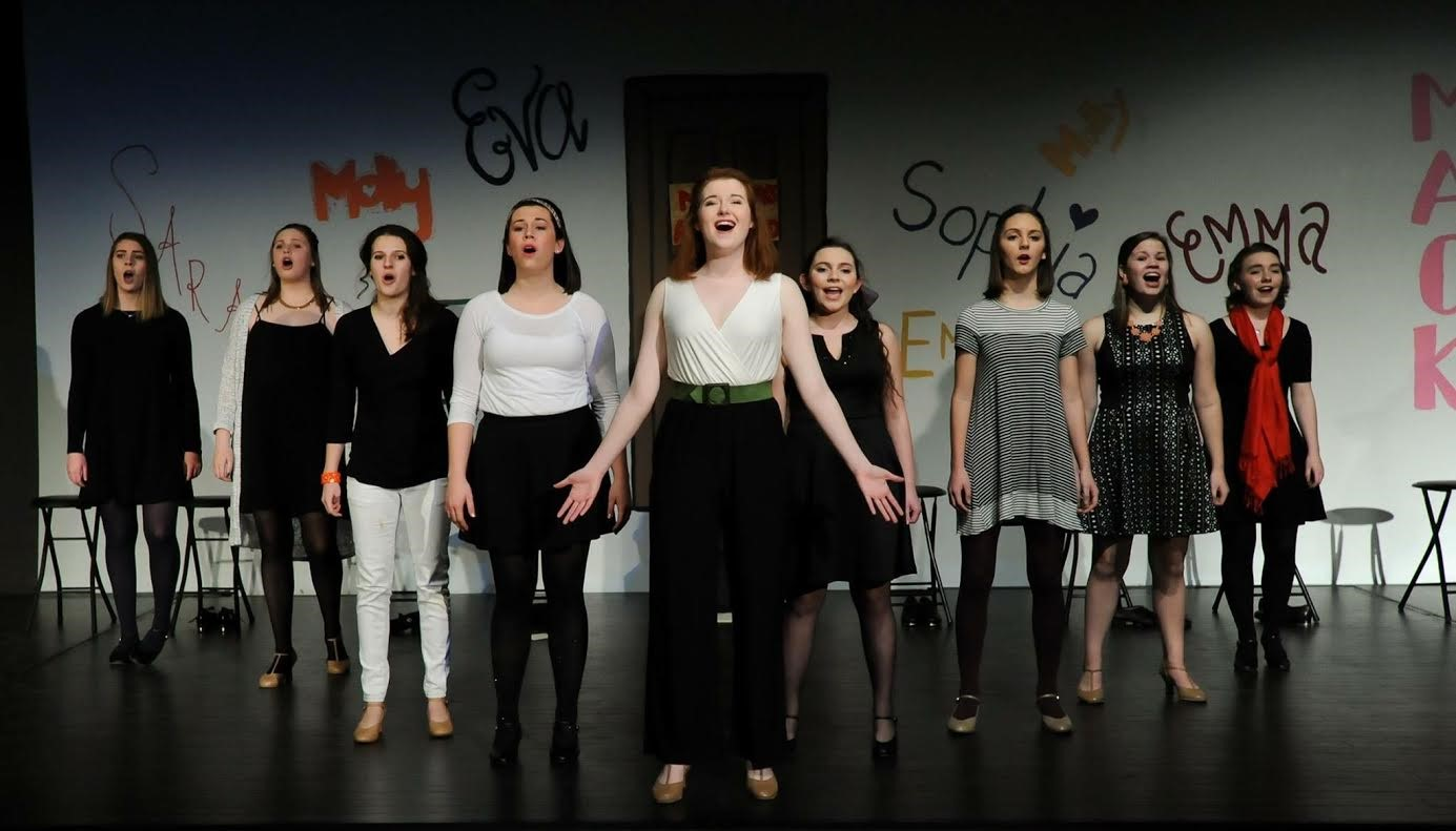 Nine performers show off their talents in the 2016 Musical Theatre Showcase!