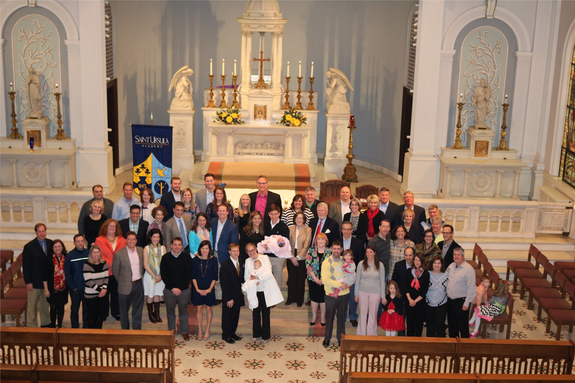 SUA Celebrates the 100th Anniversary of our Chapel with couples who were married here
