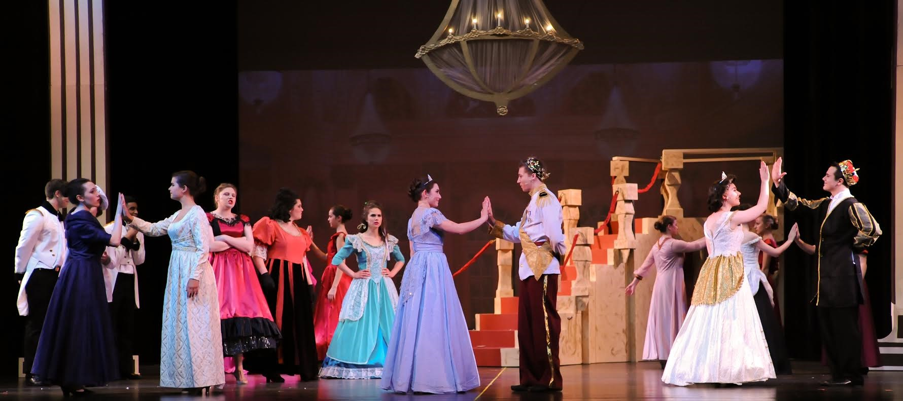 Congratulations to the cast and crew of Cinderella, SUA's spring musical. It was spectacular!