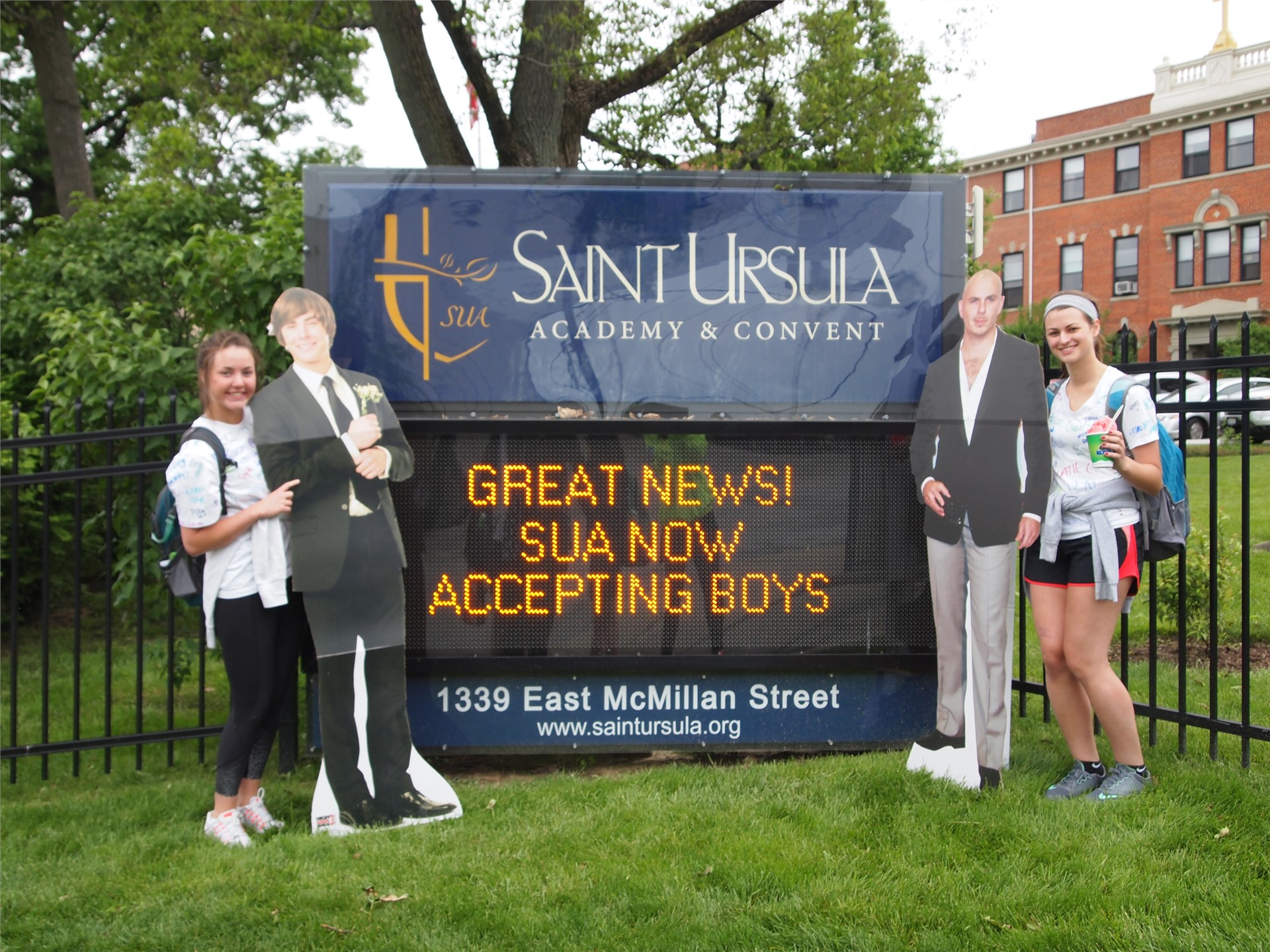 Silly Seniors!  Is SUA accepting boys?