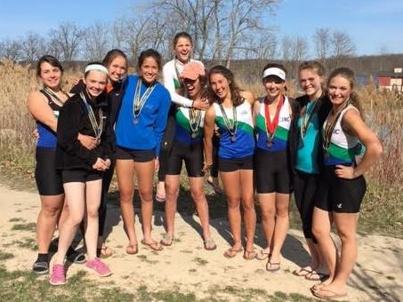 Several SUA students had a winning year rowing for the Cincinnati Junior Rowing Club