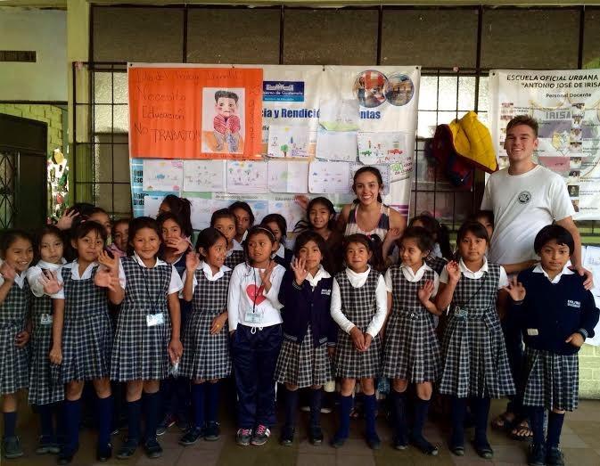 SUA graduate Sarah McGrath '13 spent her summer volunteering in Guatemala