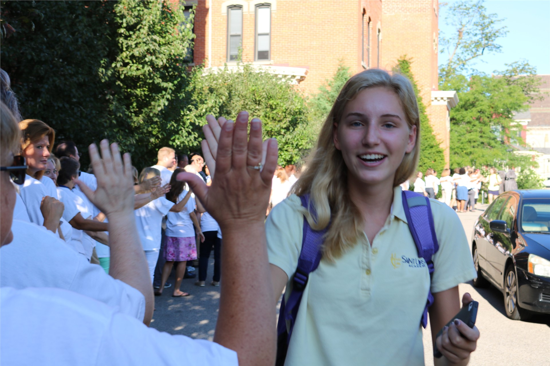 Welcome to the first day of a new school year at SUA!