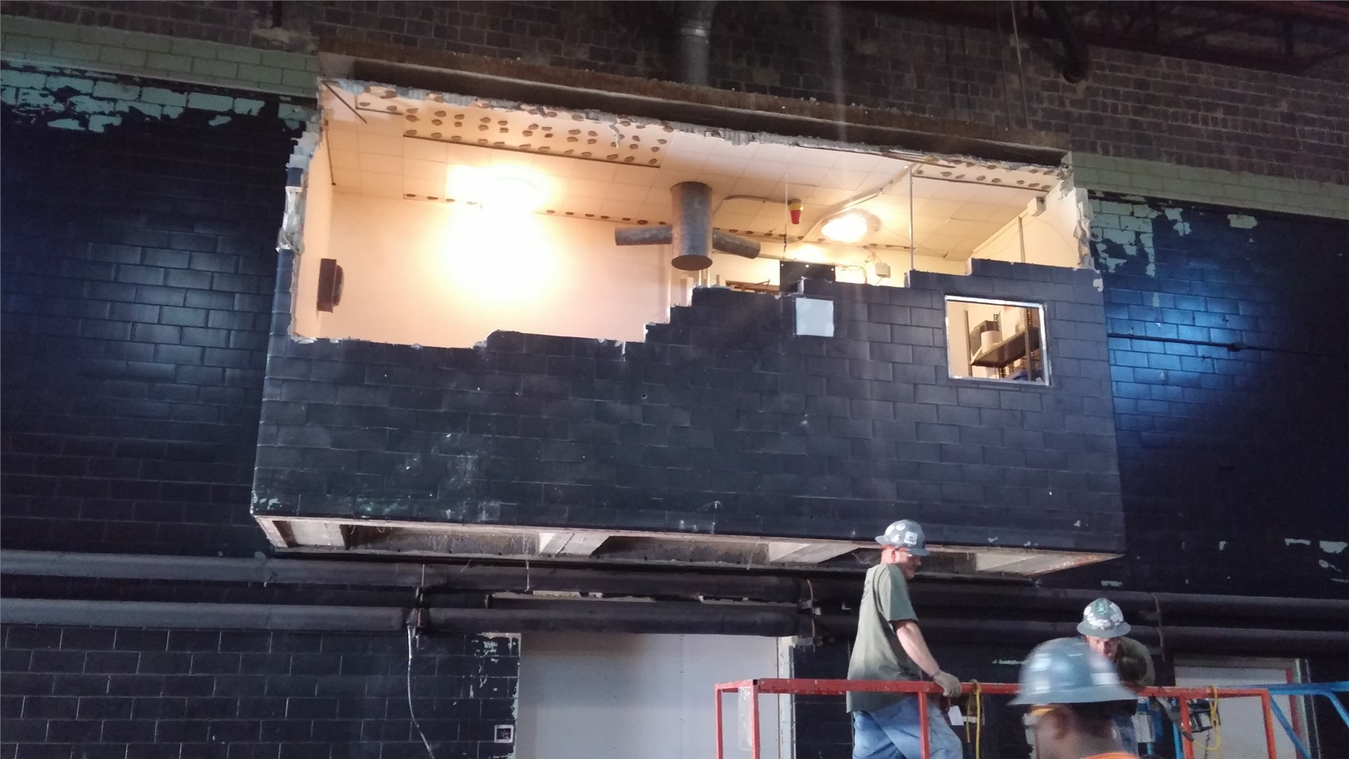 Projection Room Demolition
